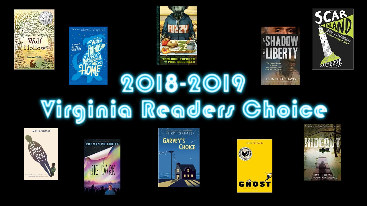 Image result for virginia readers choice 2018-2019