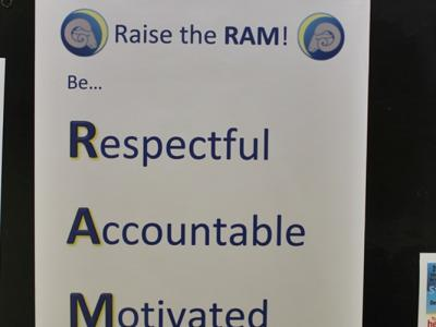 """Raise the Ram"" Poster"