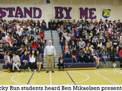 Author Ben Mikaelsen visits Rocky Run
